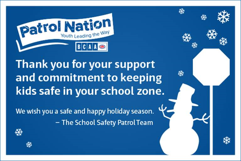 To our gr. 5 Patrol Team...