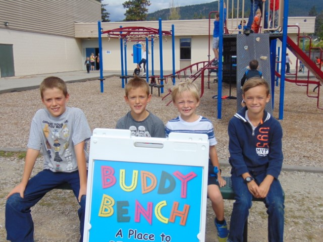 New Buddy Benches for GRE
