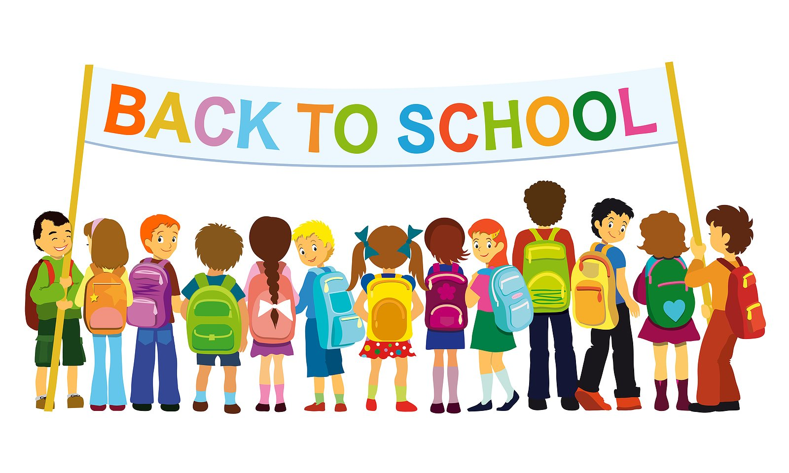 School Begins Tues. Sept. 6th!